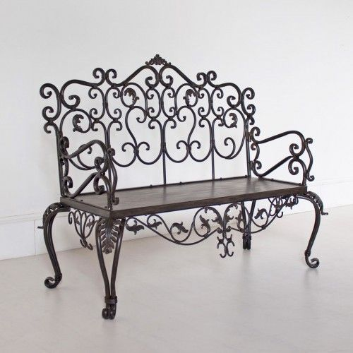 white wrought iron furniture. Wrought Iron Furniture White