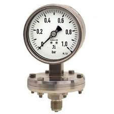 Burner Pressure Gauges Homogenizer Pressure Gauge