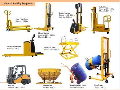 Material Handling Equipments Manufacturers Exporters